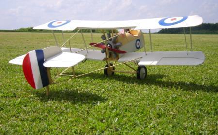 De Havilland / Avro DH2 Plan