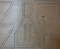 CNC Woodenparts for Depron Kits